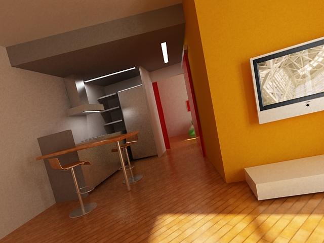 Un bilocale a torino asc studio for Studio architettura interni torino