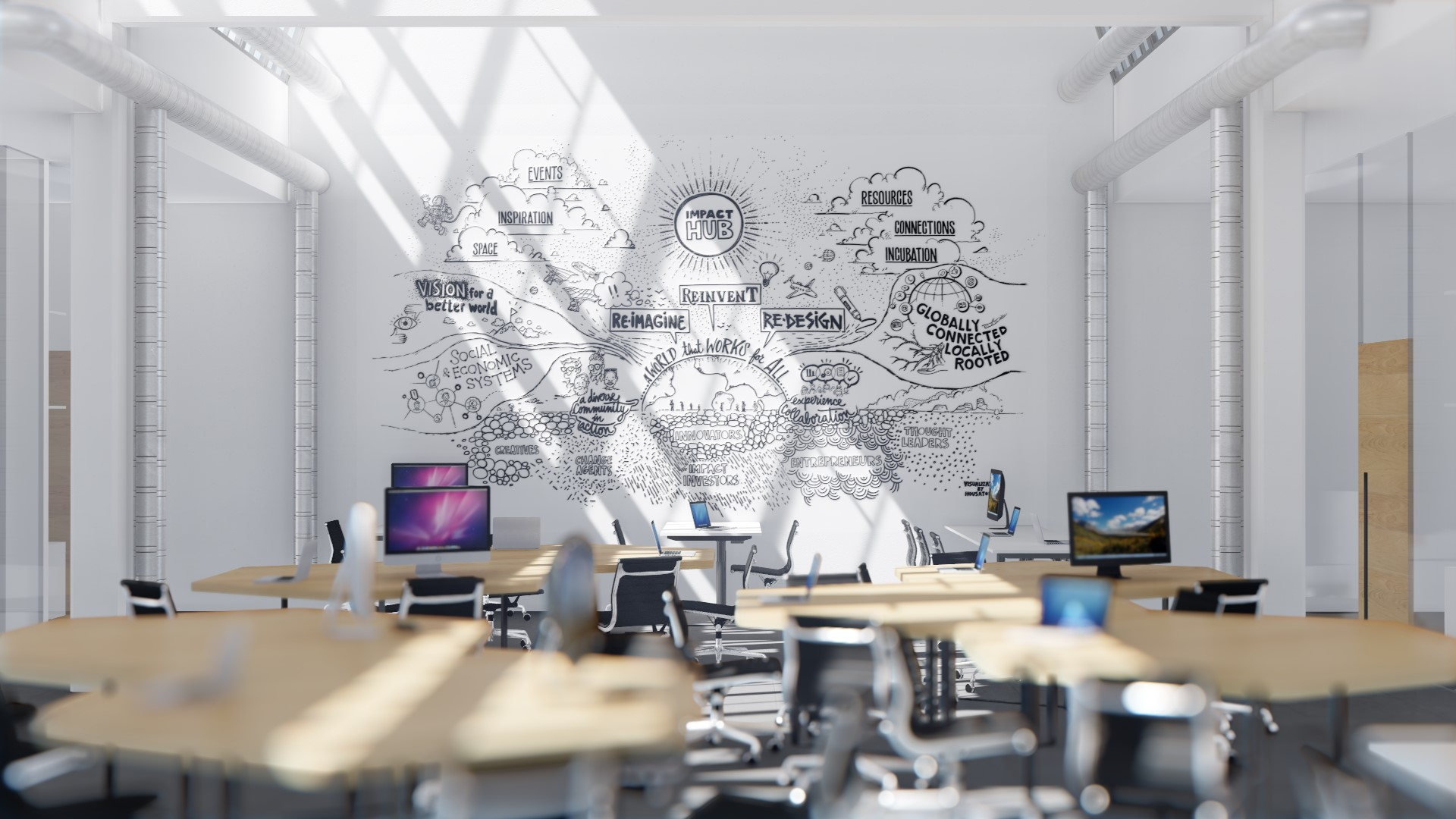 Ufficio In Condivisione Torino : Un coworking a torino asc studio